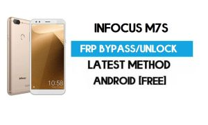 InFocus M7s FRP Bypass – Unlock Gmail Lock Android 7.0 (Without PC)