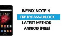 Infinix Note 4 FRP Bypass – Unlock Gmail Lock (Android 7.0) [Fix Location & Youtube Update]