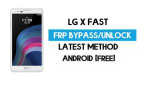 LG X Fast FRP Bypass – Unlock Google GMAIL Without PC [Android 6.0]
