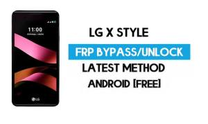 LG X Style FRP Bypass – Unlock Google GMAIL Without PC [Android 6.0]