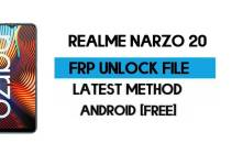 Realme Narzo 20 FRP File (With DA) RMX2191 Unlock by SP Tool – Latest Free