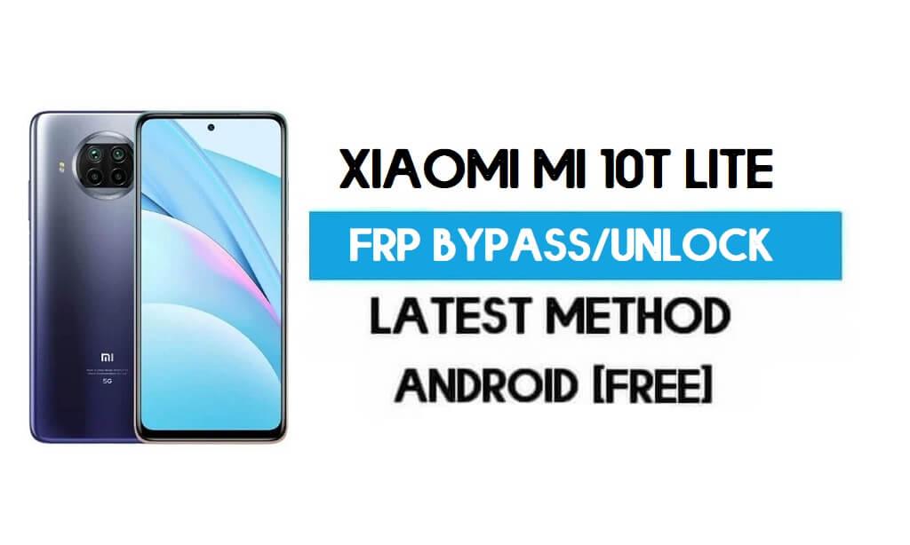 Xiaomi Mi 10T Lite MIUI 12.5 FRP Unlock/Google Account Bypass Latest