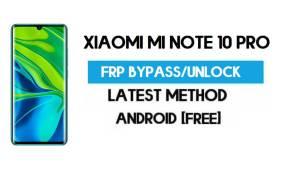 Xiaomi Mi Note 10 Pro MIUI 12.5 FRP Unlock/Google Account Bypass free