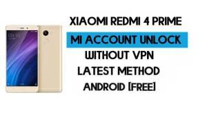 Xiaomi Redmi 4 Prime Mi Account Remove File Without VPN Qfil Tool