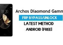 Archos Diaomond Gamma FRP Bypass – Unlock Gmail Lock (Android 7.1) [Fix Location & Youtube Update]