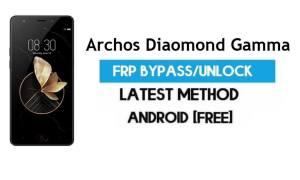 Archos Diaomond Gamma FRP Bypass – Unlock Gmail Lock Android 7.0
