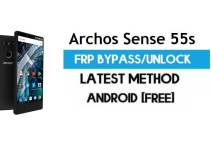 Archos Sense 55s FRP Bypass – Unlock Gmail Lock (Android 7.1) [Fix Location & Youtube Update]