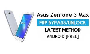 Asus Zenfone 3 Max FRP Bypass Android 7.0 – Unlock Google Gmail Lock [Without PC] [Fix Location & Youtube Update]