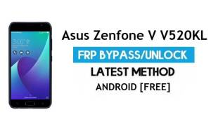 Asus Zenfone V V520KL FRP Bypass Android 7.0 – Unlock Google Gmail Lock [Without PC] [Fix Location & Youtube Update]