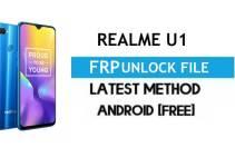 Realme U1 RMX1833 FRP File (With DA) Unlock by SP Tool – Latest Free