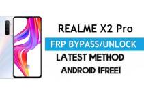 Realme X2 Pro Android 11 FRP Bypass – Unlock Google (Fix FRP Code Not Working) Without PC
