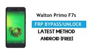 Walton Primo F7s FRP Bypass – Unlock Gmail Lock Android 7 Without PC