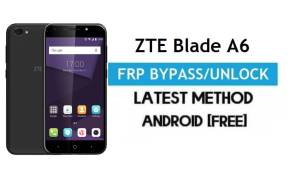 Unlock FRP Google Verification ZTE Blade A6 Android 7 – [Without PC]