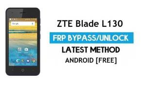 ZTE Blade L130 FRP Bypass Android 9.0 Go – Unlock Google Gmail Lock [Without PC] Latest Method