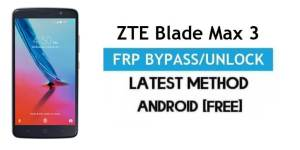 ZTE Blade Max 3 FRP Bypass Android 6.0.1 – Unlock Google Gmail Lock [Without PC]