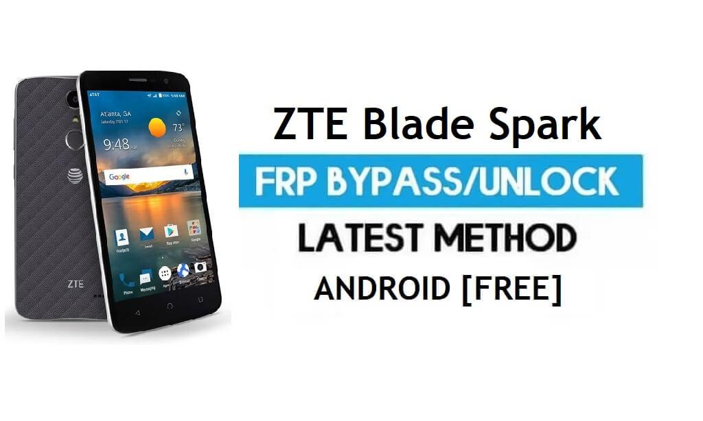 ZTE Blade Spark FRP Bypass – Unlock Google Gmail Lock Android 7.1