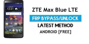 ZTE Max Blue LTE FRP Bypass Android 6.0.1 – Unlock Google Gmail Lock [Without PC]