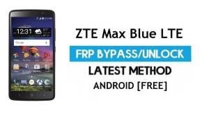 ZTE Max Blue LTE FRP Bypass – Unlock Google Gmail Lock Android 6.0