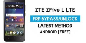 ZTE ZFive L LTE FRP Bypass Android 6.0.1 – Unlock Google Gmail Lock [Without PC]