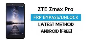 ZTE Zmax Pro FRP Bypass Android 6.0.1 – Unlock Google Gmail Lock [Without PC]