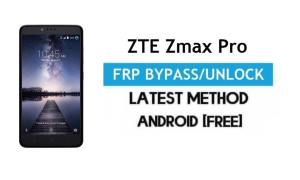 ZTE Zmax Pro FRP Bypass – Unlock Google gmail lock Android 6 No PC