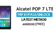Alcatel POP 7 LTE FRP Bypass – Unlock Google Gmail Lock (Android 6.0) Without PC Latest