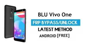 BLU Vivo One FRP Bypass – Unlock Google Gmail lock Android 7.1 no PC