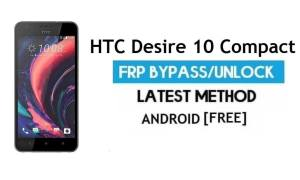 HTC Desire 10 Compact FRP Bypass No PC - Unlock Gmail Android 6.0