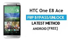HTC One E8 Ace FRP Bypass Without PC – Unlock Gmail Lock Android 6