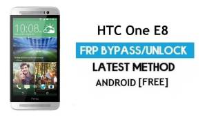 HTC One E8 FRP Bypass Without PC – Unlock Gmail Lock Android 6.1