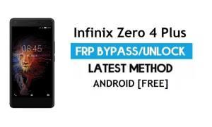 Infinix Zero 4 Plus FRP Bypass – Unlock Google gmail lock Android 6.0