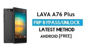 Lava A76 Plus FRP Unlock Google Account Bypass | Android 6.0 (No PC)