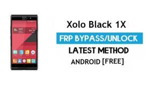 Xolo Black 1X FRP Bypass – Unlock Google Gmail lock Android 6.0 No PC