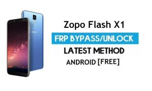 Zopo Flash X1 FRP Bypass – Unlock Google Gmail Lock (Android 7.0) Without PC Latest