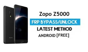 Zopo Z5000 FRP Bypass Without PC – Unlock Gmail Lock Android 7.0
