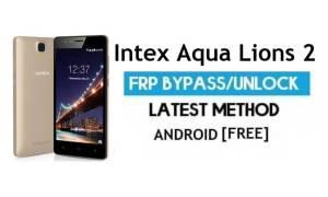 Intex Aqua Lions 2 FRP Bypass – Unlock Gmail Lock Android 7.0 No PC