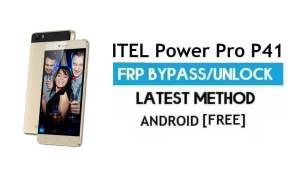 Itel Power Pro P41 FRP Bypass – Unlock Gmail Lock Android 7 No PC