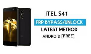 Itel S41 FRP Bypass – Unlock Gmail Lock Android 7.0 Fix Youtube Update