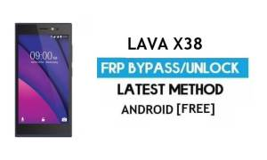 Lava X38 FRP Unlock Google Account Bypass | Android 6.0 (Without PC)