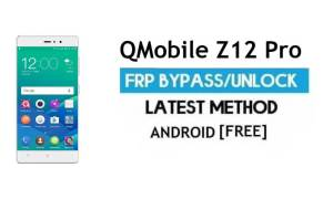 QMobile Z12 Pro FRP Unlock/Google Account Bypass | Android 6.0 (Without PC)