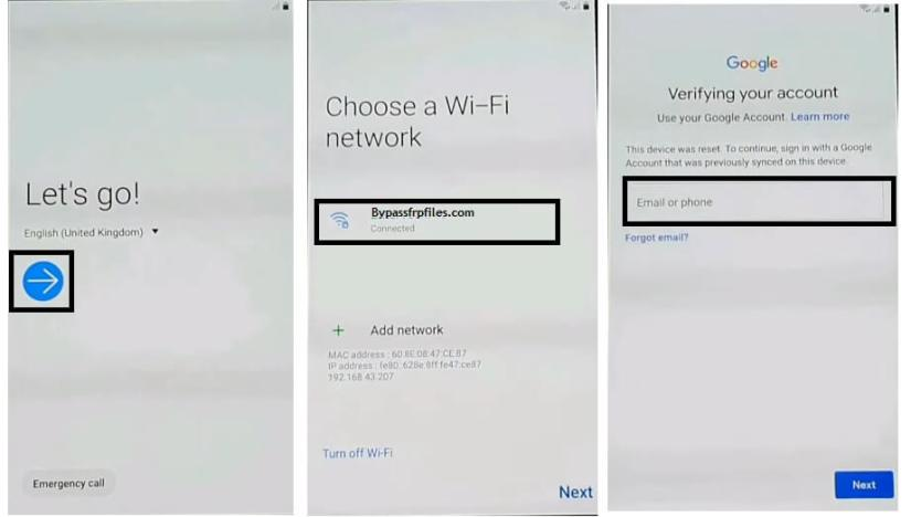 Samsung Android 9.0 FRP Bypass Unlock Google Without PC