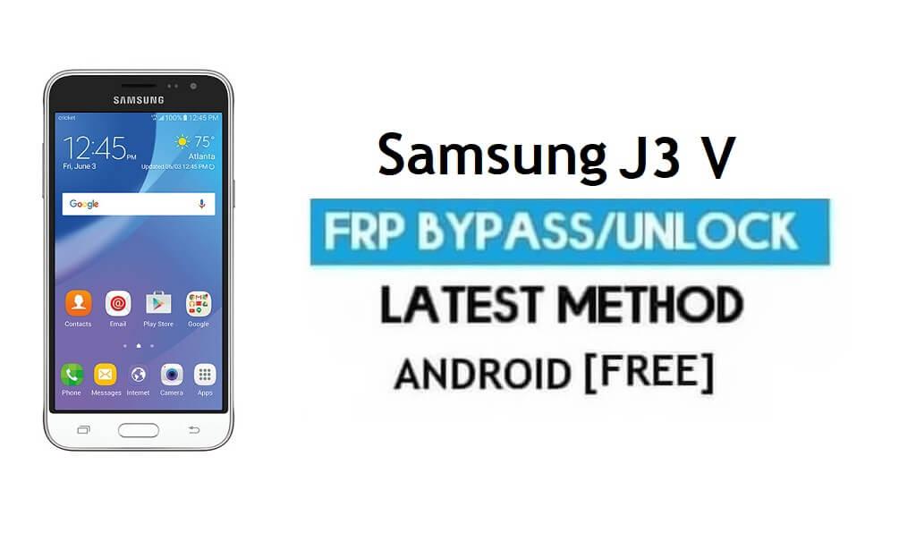 Samsung J3 V J320M/G FRP Bypass – Unlock Google Verification Without PC [Android 7.1.1]