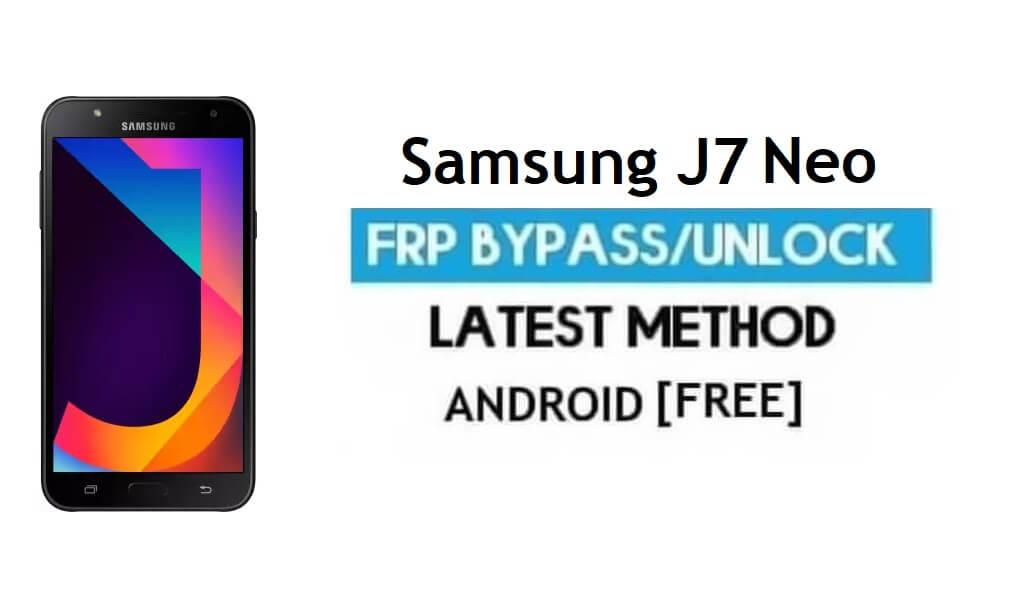 Samsung J7 Neo SM-J701M FRP Bypass 2021 Unlock Google Android 9.0