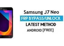 Samsung J7 Neo SM-J701M FRP Bypass 2021 Latest – Unlock Google Verification [Android 9.0]