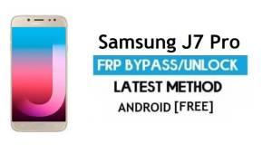 Samsung J7 Pro SM-J730F/G/GM FRP Bypass Unlock Google Android 9.0