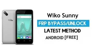Wiko Sunny FRP Unlock Google Account Bypass   Android 6.0 Without PC