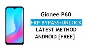 Gionee P60 Android 11 FRP Bypass Unlock Google Gmail lock Without PC