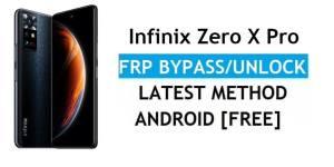Infinix Zero X Pro (X6810) Android 11 FRP Bypass – Unlock Google Gmail Verification – Without PC [Latest Free]