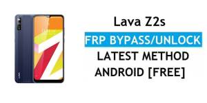 Lava Z2s FRP Bypass Android 11 – Unlock Google Gmail Verification – Without PC [Latest Free]