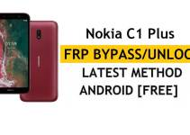 Reset FRP Nokia C1 Plus – Bypass Google Gmail Lock [Android 10] Without PC/APK Free New Method
